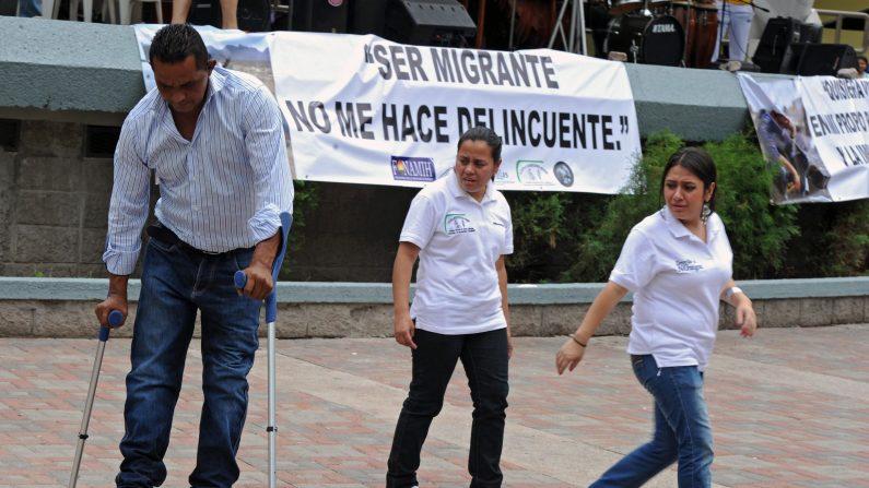 Centenares de migrantes hondureños privados de libertad en México