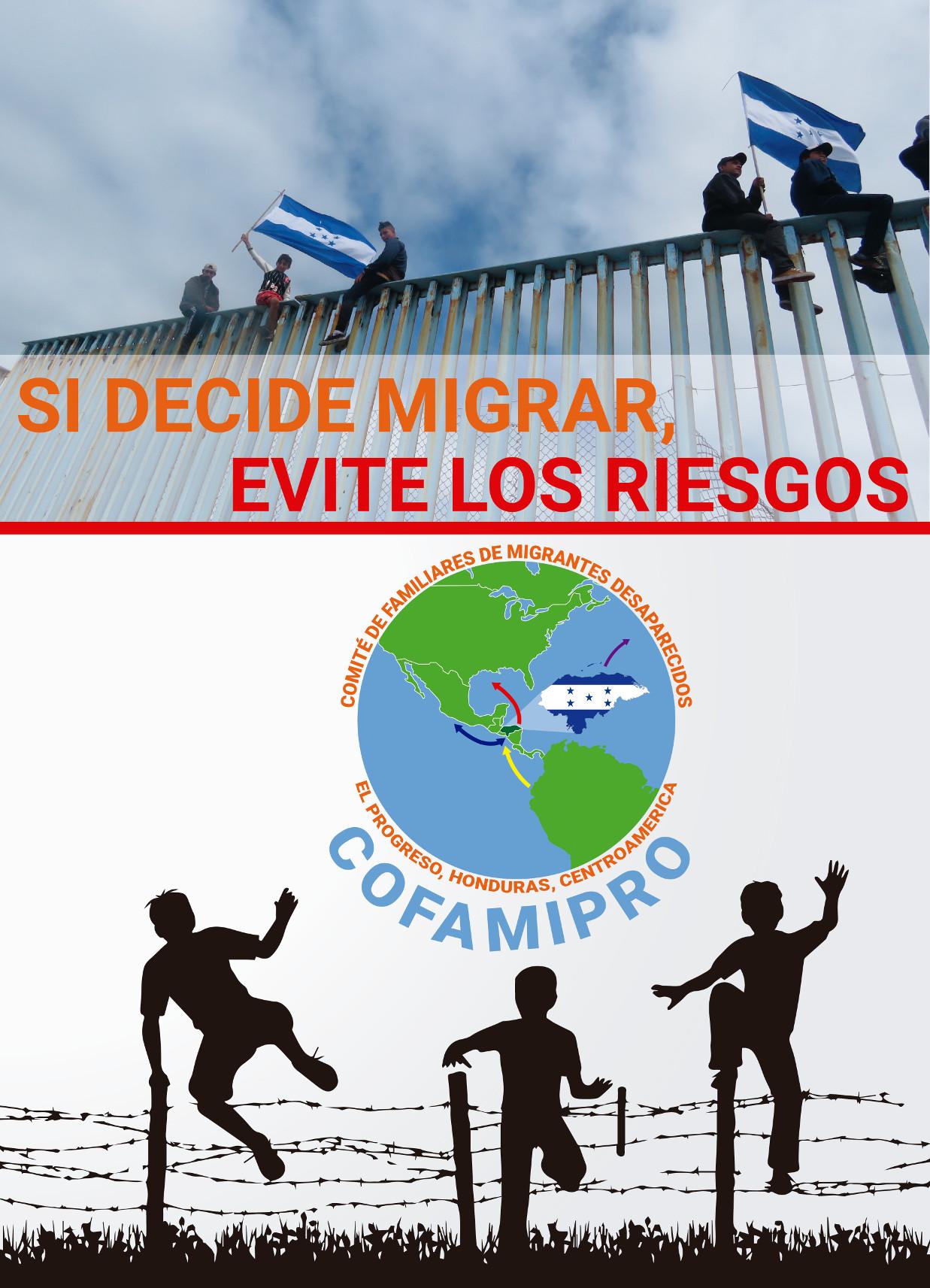 COFAMIPRO impulsa campaña informativa sobre riesgos de la migración